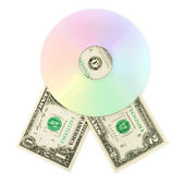 Cd dvd disk — Stock Photo