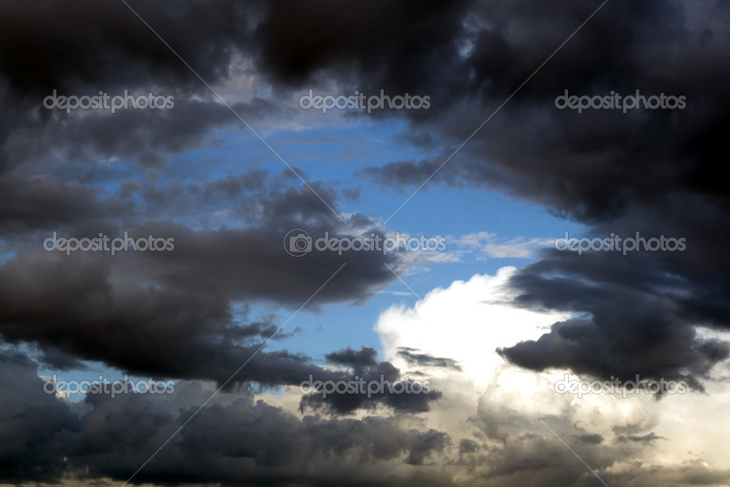 Clouds and skies horizontal  backgrounds  Stock Photo #1196051
