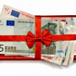 Royalty-Free Stock Photo: Euro gift