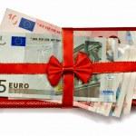Euro gift — Stock Photo #1208442