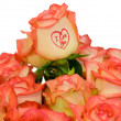 "Stock Photo: Roses ""I Love you"""