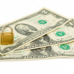 stos dolarów amerykańskich — Zdjęcie stockowe