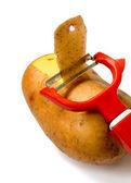 Messer für gemüse — Stockfoto
