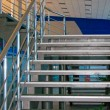 Modern metallic stairs — Stock Photo #1353594