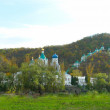 View of The Svyatogorsk Dormition Laura — Stock Photo
