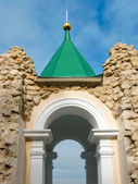 Arch of the Church of St. Nicolas — Stock Photo
