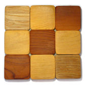 Wood samples — Stock Photo