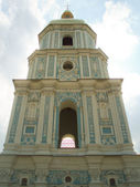 The bell tower of St. Sophia in Kiev — Stock Photo