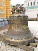 La cloche du beffroi grosse de laura — Photo
