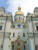 Facade of the Dormition cathedral — Stock Photo