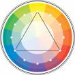 Multicolor spectral circle — Stock Vector
