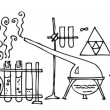 Royalty-Free Stock Vectorafbeeldingen: Scientific Lab