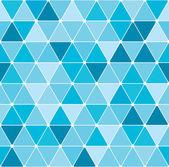 Patrón del triángulo de invierno — Vector de stock