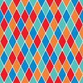 Harlequin seamless pattern 3.8 — Stock Vector