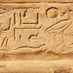 Egyptian hieroglyphs — Stock Photo #2125342