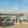 Guay of the Nile in Luxor — Stock Photo