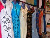 Traditional Egyptian dresses — Stock Photo