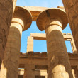 Colonnade at Karnak — Stock Photo