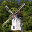 Stock Photo: Old wind mill in Helen Georgia