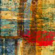 Art abstract grunge graphic background - Photo