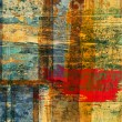 Art abstract grunge graphic background - Foto Stock