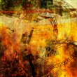 Foto de Stock  : Art abstract grunge graphic background