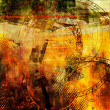 Стоковое фото: Art abstract grunge graphic background