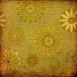 Royalty-Free Stock Photo: Art grunge floral vintage background