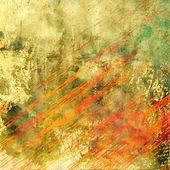 Art contour grunge background — Stock Photo