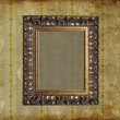 Art frame on pattern paper — Stock Photo #1624358