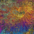 Art abstract grunge graphic background — 图库照片