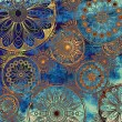 Art floral grunge background pattern - Photo