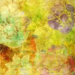 Art floral grunge background pattern — Stock Photo #2296090