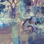 Art floral grunge background pattern — Stock Photo