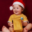 Royalty-Free Stock Photo: Christmas baby