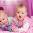 Two babies - Stock Photo