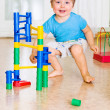 Child play with toys — Stock Photo #1179730
