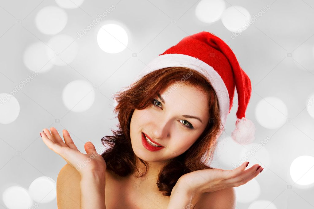 When a girl decides to don a Santa hat, it's awesome. When they put on their Santa hat and are really hot and sexy, then that adds something extra to the equation. These .