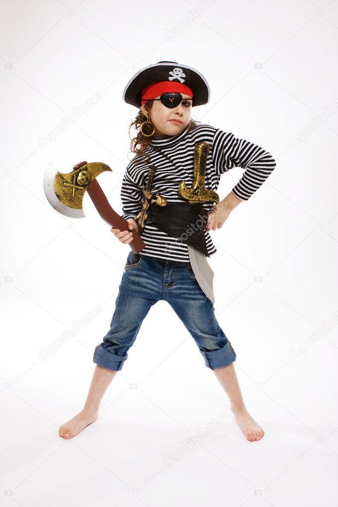 Как сделать костюм пирата своими руками в домашних условиях для мальчиков