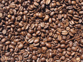 Coffee-beans background — Stock Photo