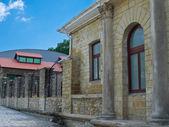 Old vine factory building in Abrau villa — Stock Photo