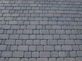 Grey block paving background — Stock Photo
