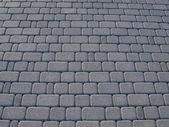 Grey block paving background — Stock Photo