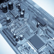 Electronic circuit board. — 图库照片
