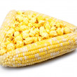 Royalty-Free Stock Photo: Corn in a cobs and popcorn