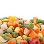 Frozen various vegetables — Stock Photo