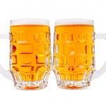 A mugs of beer closeup view — Stock Photo #1178921