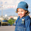 Baby on a road — Stock Photo #1168714