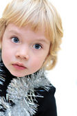 Portrait of adorable little girl — Stock Photo