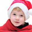 Funny Santa girl — Stock Photo #1583125